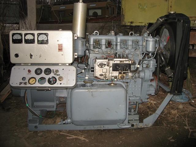 Дизельный генератор АД - 15