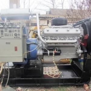 Дизель генератор сотка