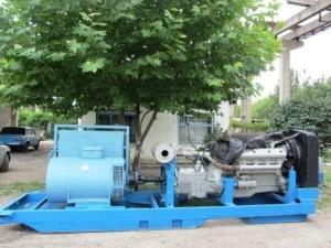 Дизель генератор 140 кВт Чехия