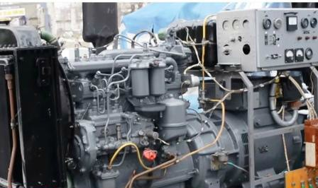 Дизель-генератор 30 кВт - двигатель СМД11