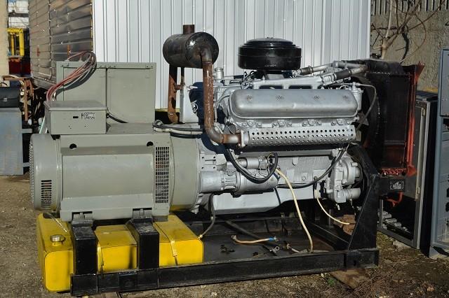 Cтационарный дизельный генератор мощностью 100 кВт
