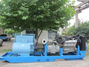 Дизель-генератор мощностью 140 кВт