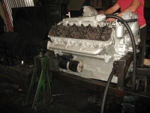 Двигатель ЯМЗ-238 после ремонта.